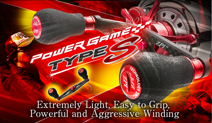 DAIWA ZPI POWER GAME HANDLE 92mm PG-TS92AD Type S for AbuGarcia Sporting Goods