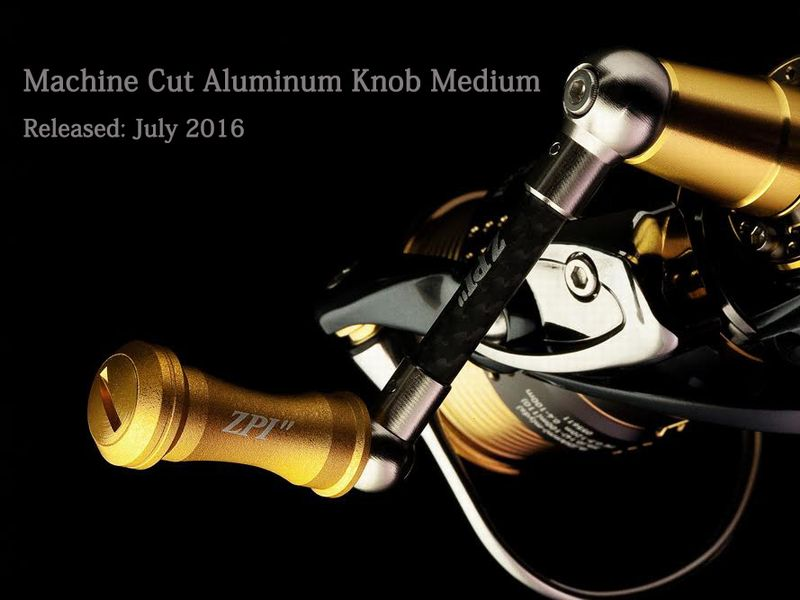 Machine Cut Alminum Knob
